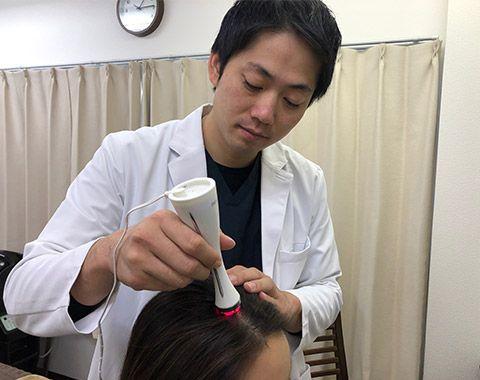 頭皮の血行不足を解消し、髪が伸びるための栄養をガンガン供給する環境作り